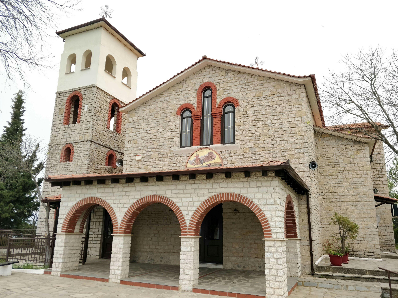 The church of Profitis Ilias in Kastoria, Northern Greece