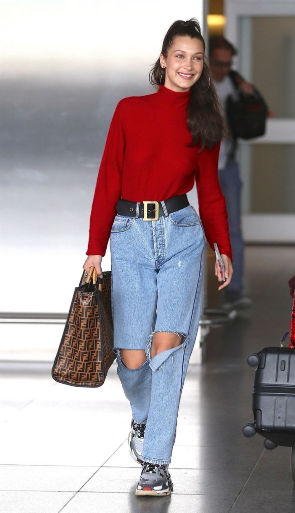 Styling airport outfit ideas