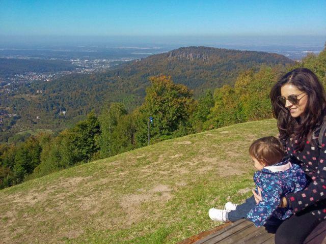 Baden Baden Μπαντεν Μπαντεν Merkur mountain